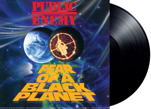 PUBLIC ENEMY-Fear Of A Black Planet (Re-Issue)-Vinyl Lp-Brand new/Still Sealed-LAS_89