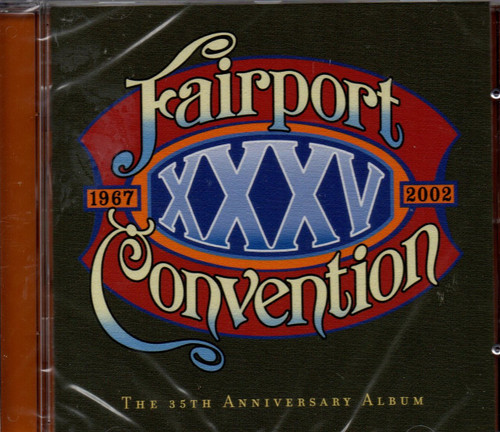 Fairport Convention - XXXV-CD-Bonus Tracks -Brand New-Still Sealed