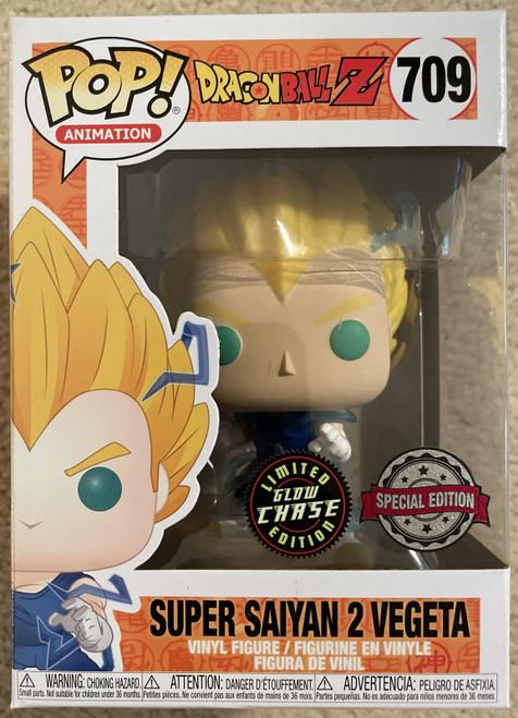 Dragon Ball Z - Goku Super Saiyan 2-CHASE EDITION US Exclusive Pop! Vinyl-FUN50340-FUNKO