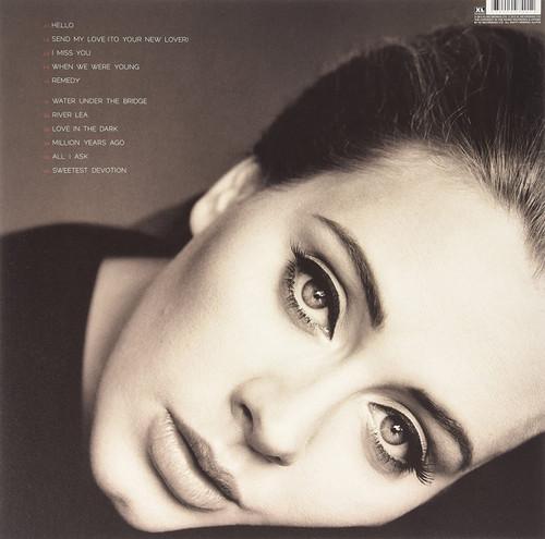 ADELE-25-VINYL LP-Brand New-Still Sealed