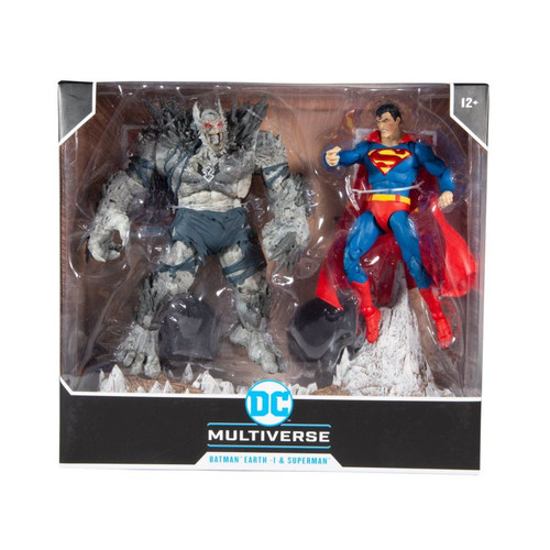 Superman - Superman vs Devastator Multipack-MCF15451-MCFARLANE TOYS