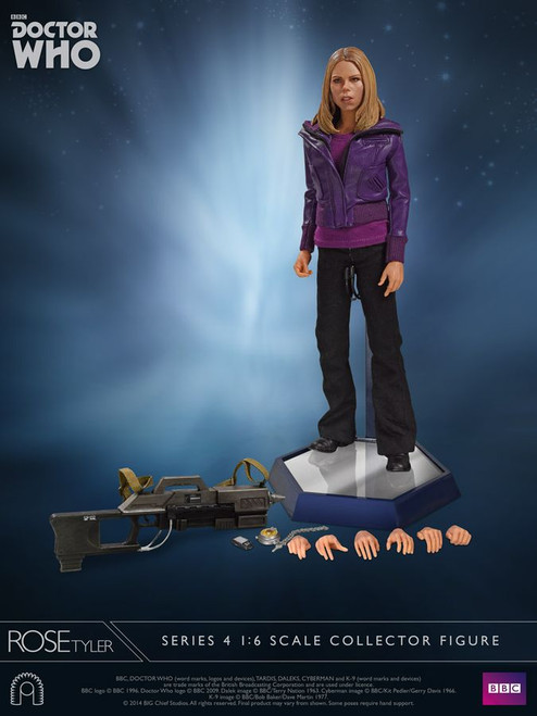 "Doctor Who - Rose Tyler Series 4 12"" 1:6 Scale Action Figure-BCSBCDW0085"