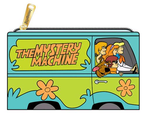 Scooby Doo - Mystery Machine Flap Purse-LOUSBDWA0001-LOUNGEFLY