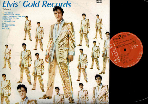 Elvis Presley-Elvis' Gold Records - Volume 2-VINYL LP-USED-RELP_1415