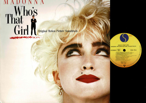 Madonna-Who's That Girl (Original Motion Picture Soundtrack)-VINYL LP-USED-RELP_1416