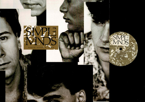 Simple Minds-Once Upon A Time-VINYL LP-USED-RELP_1418