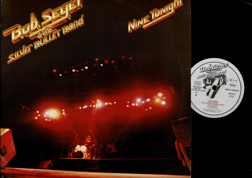 Bob Seger And The Silver Bullet Band-Nine Tonight-VINYL LP-USED-RELP_1398