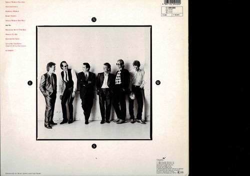 Huey Lewis & The News-Small World-VINYL LP-USED-RELP_1399