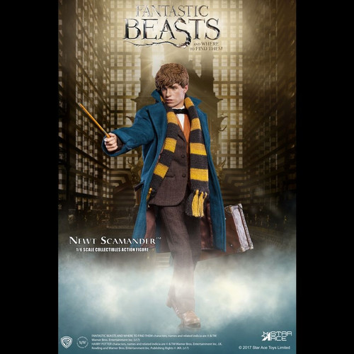 Fantastic Beasts and Where To Find Them - Newt Scamander 1:6 Scale Action Figure-SATSA0047