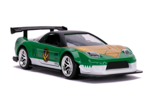 Power Rangers - '02 Honda NSX Type R Green 1:32 Scale Hollywood Ride-JAD31843-JADA TOYS