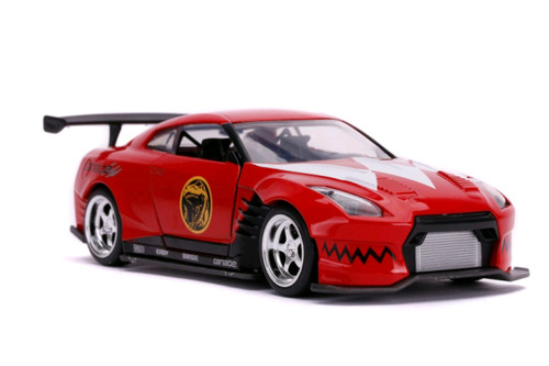 Power Rangers - '09 Nissan GT-R Red 1:32 Scale Hollywood Ride-JAD31827-JADA TOYS
