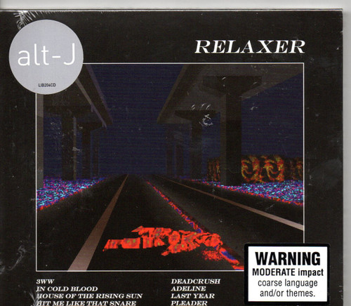 Alt-J-Relaxer CD-Brand New-Still Sealed
