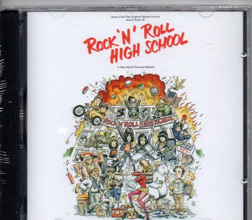 RAMONES-Rock 'N' Roll High School - Soundtrack CD-Brand New-Still Sealed