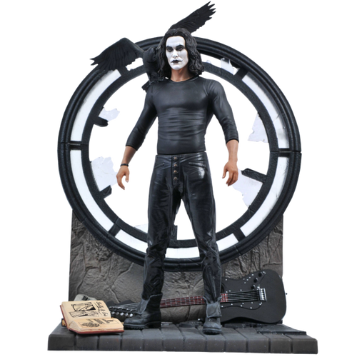 The Crow - The Crow Movie Gallery PVC Statue-DSTOCT201994-DIAMOND SELECT TOYS