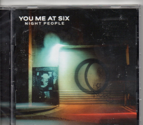 You Me At Six-Night People CD-Brand New-Still Sealed