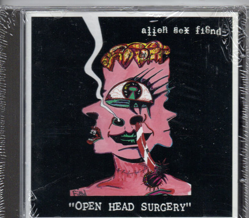 ALIEN SEX FIEND-Open Head Surgery-CD-Brand New-Still Sealed
