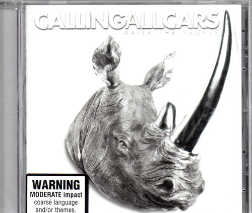 CALLING ALL CARS-Raise The People-CD-Brand New-Still Sealed