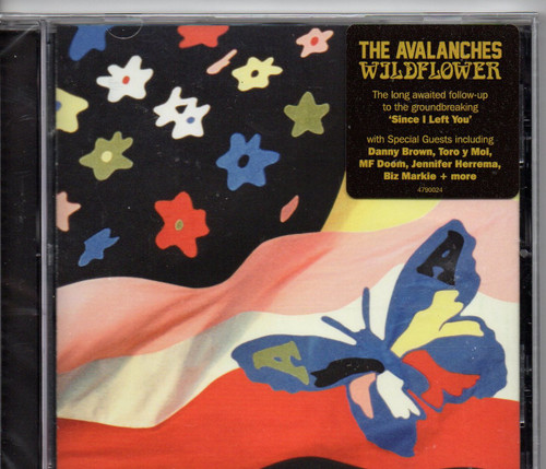 AVALANCHES, THE-Wildflower CD-Brand New-Still Sealed