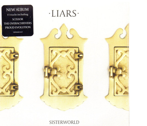 Liars - Sisterworld CD-Brand New-Still Sealed