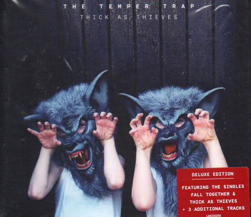 TEMPER TRAP, THE-Thick As Thieves (Deluxe Cd-3 bonus Tracks) CD-Brand New-Still Sealed