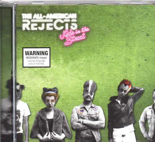 All American Rejects-Kids In The Street CD -Brand New