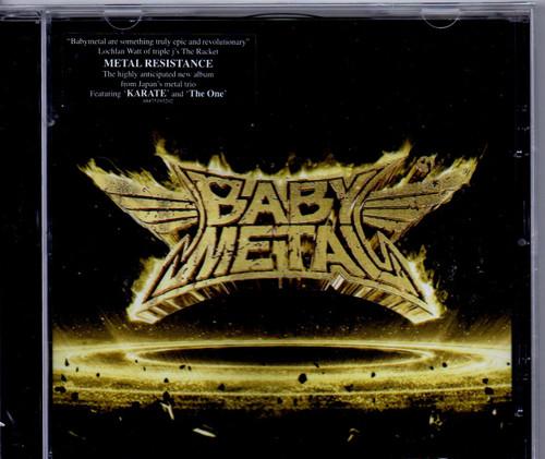 BABYMETAL-Metal Resistance-CD-Brand New