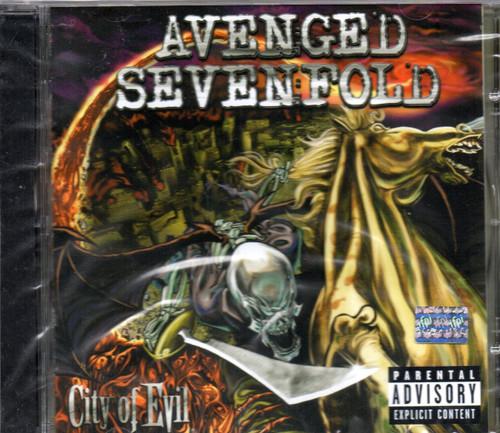 Avenged Sevenfold - City of Evil CD-Brand New-Still Sealed
