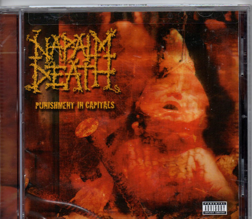 NAPALM DEATH-Punishment In Capitals CD-Brand New-Still Sealed