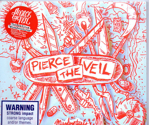 PIERCE THE VEIL-Misadventures-Brand New-Still Sealed