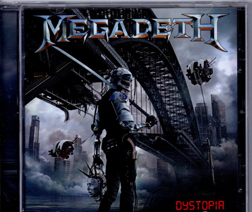 MEGADETH-Dystopia-CD-Brand New-Still Sealed