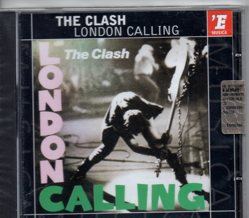CLASH-London Calling (Italian Import)-CD-Brand New-Still Sealed