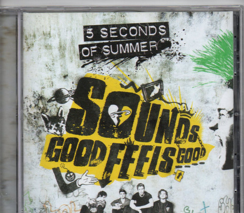 5 SECONDS OF SUMMER-Sounds Good Feels Good CD-Brand New-Still Sealed