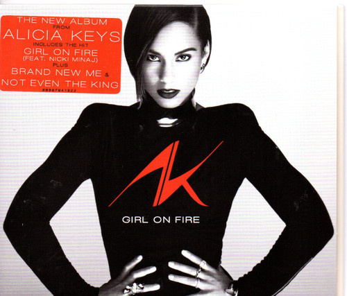 ALICIA KEYS-Girl On Fire CD-Brand New