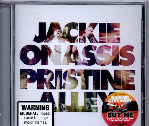 JACKIE ONASSIS-Pristine Alley-CD-Brand New-Still Sealed