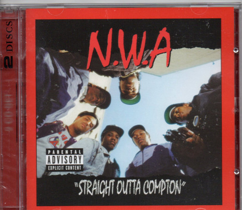 N.W.A.-Efil4ziggin/ traight Outta Compton (2 CD Edition) CD-Brand New-Still Sealed