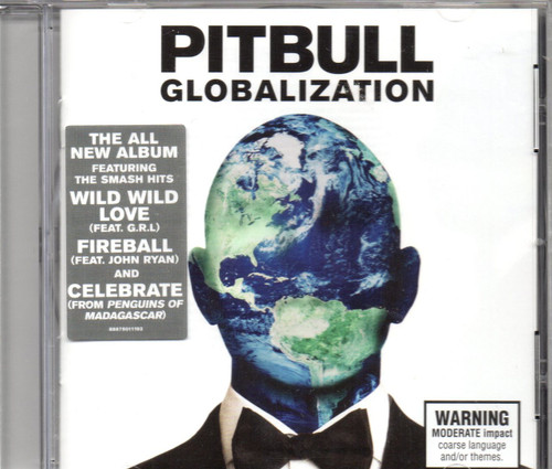 Pitbull-Globalization CD -Brand New-Still Sealed