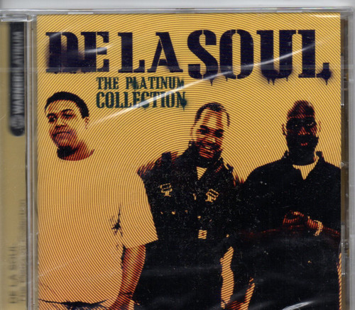 DE LA SOUL-The Platinum Collection-CD-Brand New-Still Sealed
