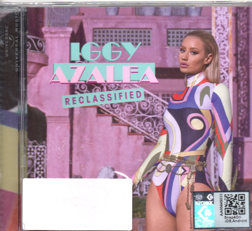 Iggy Azalea-New Classic: Reclassified CD-Brand New-Still Sealed