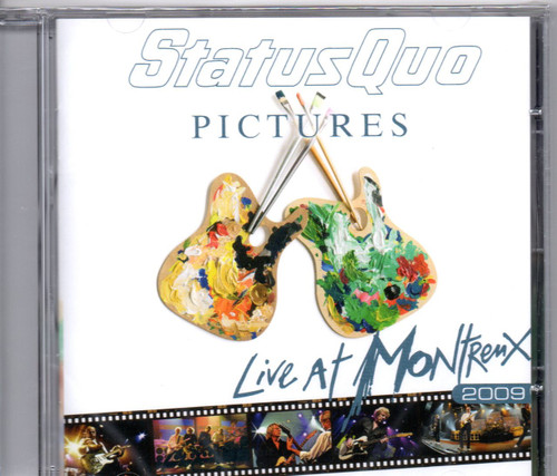 Status Quo - Live At Montreux 2009 CD-Brand New-Still Sealed