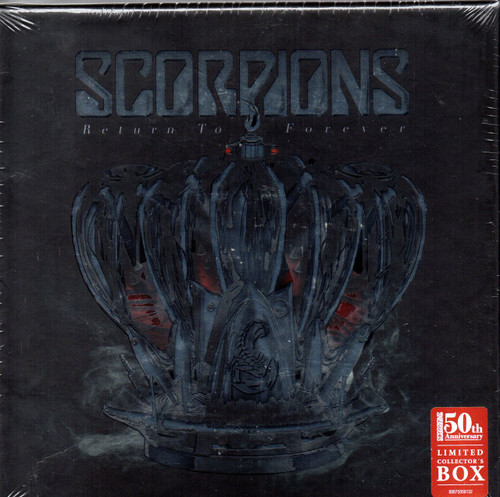 "The Scorpions-Return To Forever (Ltd Edition Box Set) CD, T Shirt, 7"" Vinyl etc -Brand New-Still Sealed"