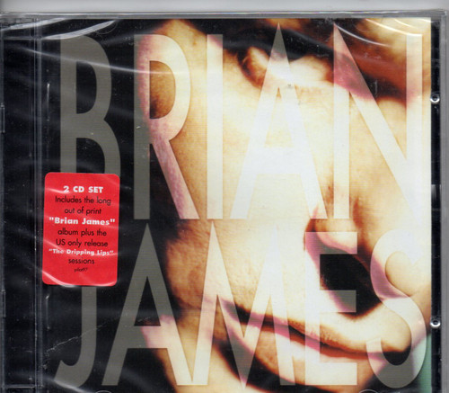 BRIAN JAMES ( Damned) -Brian James / The Dripping Lips (2 CD set)-Brand New-Still Sealed