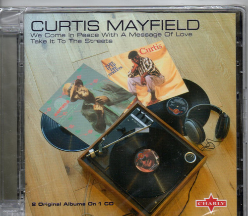 CURTIS MAYFIELD-We Come In Peace With