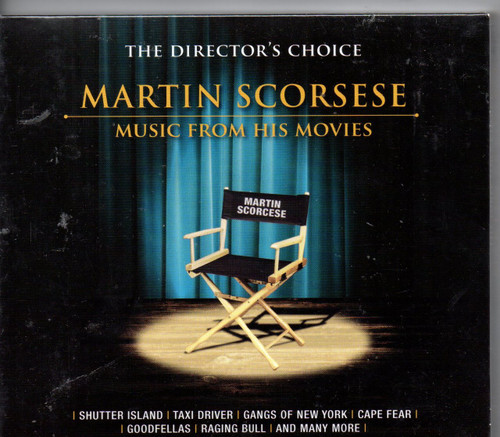 MARTIN SCORSESE - Music From His Movies-Bonus CD - Music From Goodfellas (2 CD's) CD-Brand New-Still Sealed