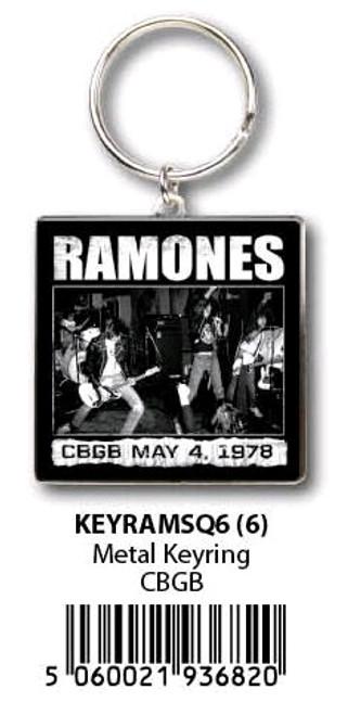 Ramones - KeyRing-HMBKEYRAMSQ6