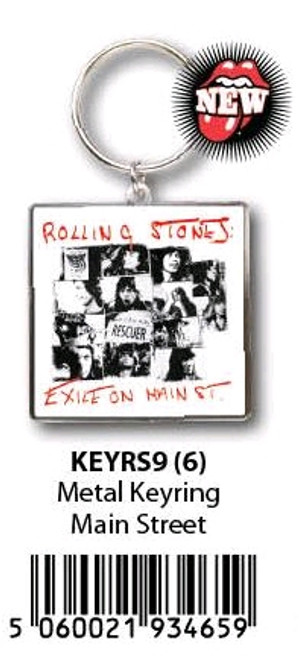 The Rolling Stones - KeyRing Exile On Main Street-HMBKEYRS9