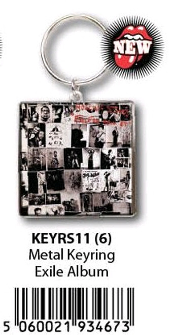 The Rolling Stones - KeyRing Exile On Main Street Alb-HMBKEYRS11