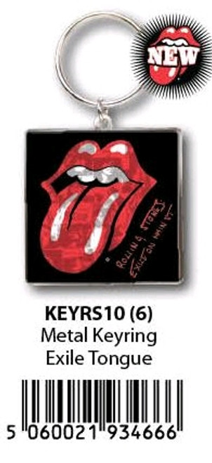 The Rolling Stones - KeyRing Tongue Exile On Main St-HMBKEYRS10