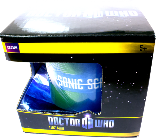 Doctor Who - Sonic Screwdriver Mug-WESDR154