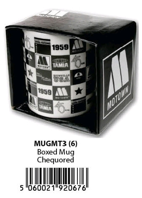 Motown - Boxed Mug Checked-HMBMUGMT3
