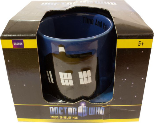 Doctor Who - TARDIS 2D Relief Mug-WESDR145